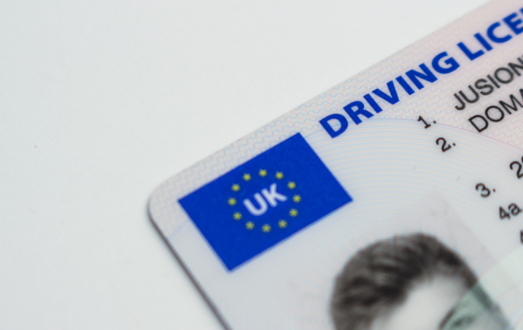 Driving license application
